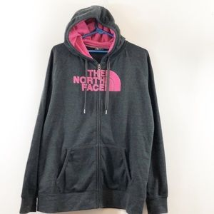 The North Face Women's Zip Up Hoodie Size XL